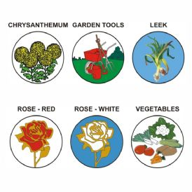 Gardening & Horticulture pk of 5 25mm centres-